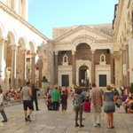 Diocletian's palace- Peristyl