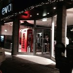 Tiu Dropar is situated below street level opposite Eva with the English telephone box