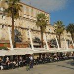 Diocletian's palace- esplanade