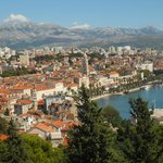 view over Split