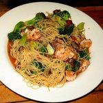 Broccoli and Shrimp stir fry
