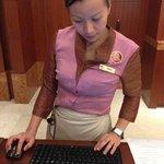 Amelia... the worst front desk officer I've encountered.