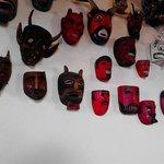 Mascaras en la zona de mesas