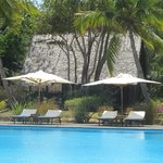 One of the Lodges near the Pool