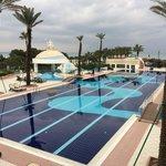 Ein Blick in den Pool  Hotel Limak  Atlantis Resort Belek