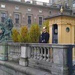Гвардия у Королевского дворца