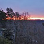 Sunrise from Mountain Air Guestroom
