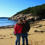 Brandon and I in Acadia