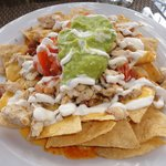 Super Nachos @ the Grill restaurant