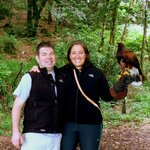 Falconry on our Honeymoon