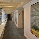 galeria de arte pelos corredores