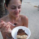 choco-coco cream pie....yu-um