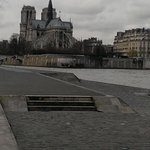 Notre Dame from banks of Seine