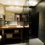 Salle de bain - Chambre double - Appartement 100m2