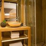 Salle de bain cabine - chambre enfant - Appartement 100m2