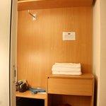 wardrobe and save deposit box