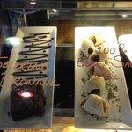 Toblerone Brownies & 100% Beef Sausage Rolls