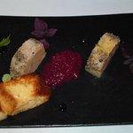 il delizioso foie gras a la plancha..