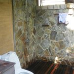 salla de bain extérieure