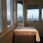 Breakfast view (inside)