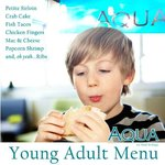 Young Adults menu
