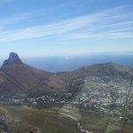 """""""Vista da table montain para a lion head"""", so Brasileiro e apaixonado pela Africa do Sul."""