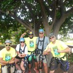 Our trusted guides:  Keoki, Kurt and Kaulana!