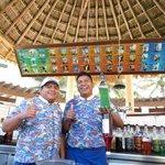 Benjamin and Manuel, the kings of the pool bar