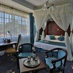 Sample guest room