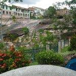 Hotel Canto das Águas, vista da piscina.