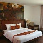 ruime kamer met goed bed