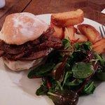 Scrummy beef sandwich...