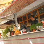 Bar à ciel ouvert
