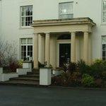 Fishmore Hall Hotel entrance