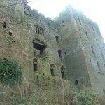 Ludlow castle walls