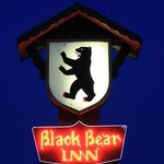 The Black Bear Inn sign