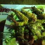 Mixed sea-food platter