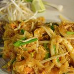 Seafood Pad Thai, The Hut, Bophut, Koh Samui