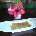 Dessert... Banana Flamblee..