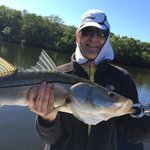 Nice Snook for January!  Thanks Capt Mike!