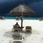 My favorite pictures of my husband under the umbrella!