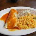 chicken enchilada lunch