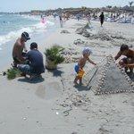"""Sand buildings and """"Mama-Palma & Tata-Palma"""""""