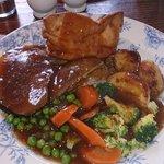 Classic Sunday Roast Beef Dinner