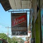 """Street Sign """"La Carreta"""""""