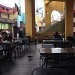 Dirty food court
