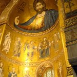 Christ Pantocrator embraces all at Monreale