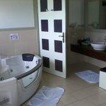 Bathroom with jacuzzi bath