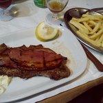 bife do lombo com bacon