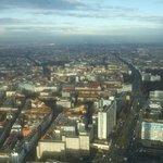 Вид с Berlin TV Tower